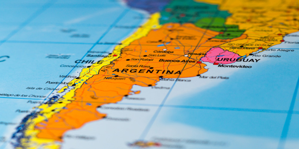 Argentina,Map,South America