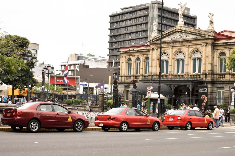 Taxis in Costa Rica