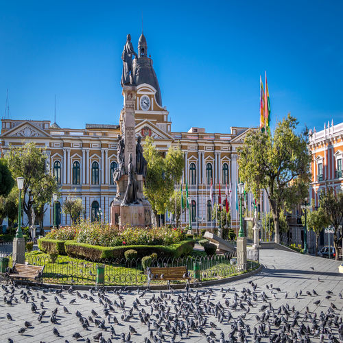Bolivia - Explore the Vibrant Central Plaza in La Paz