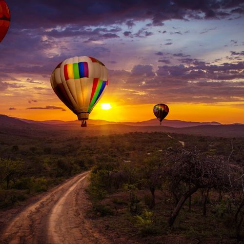 Kenya - Journey Across The Beautiful Masai Mara in A Hot Air Balloon