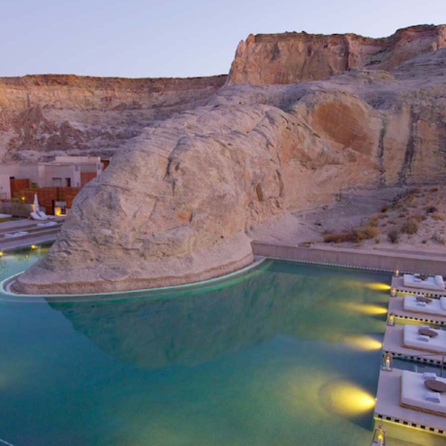 Western USA - Amangiri: enjoy a spa experience in Navajo country!