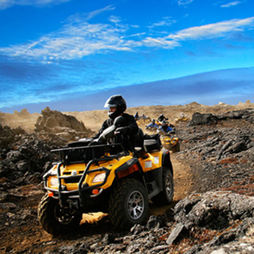 Iceland - Pair an ATV Ride with a Scrumptious Barbecue