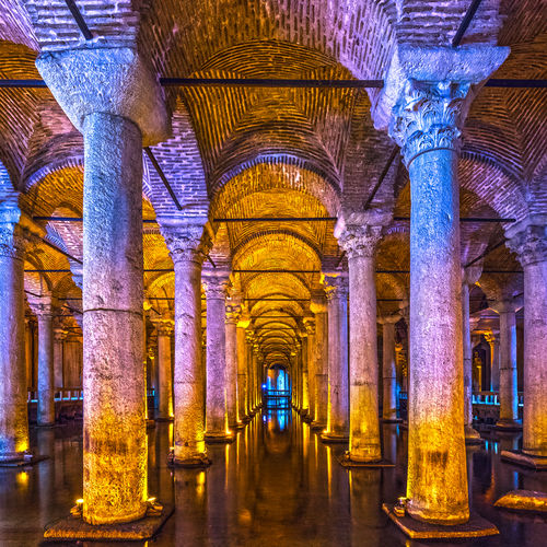 Turkey - The Reservoirs of the Basilica Cistern