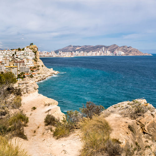 Spain - A Mediterranean Family Adventure at Benidorm Beach