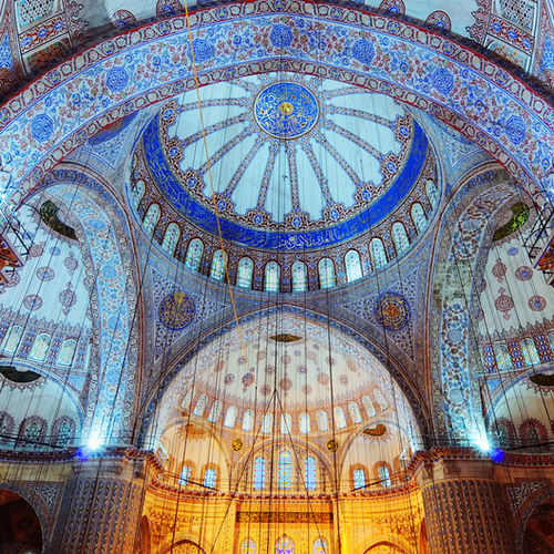 Turkey - The Blue Mosque of Istanbul