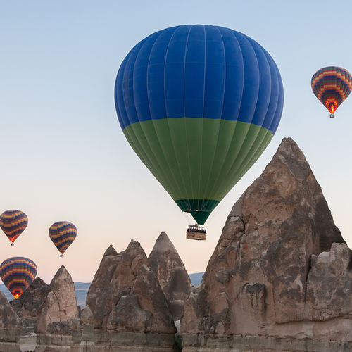 Turkey - Take flight in a Hot Air Balloon Over Cappadocian Landscape