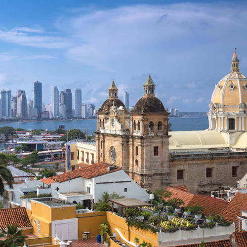 Cartagena de Indias, Colombia, Walled City, Caribbean Coast