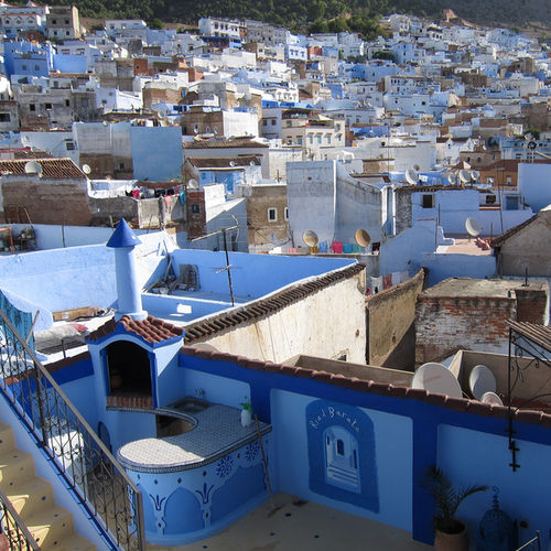 Morocco - Chefchaouen: Fifty Shades Of Blue