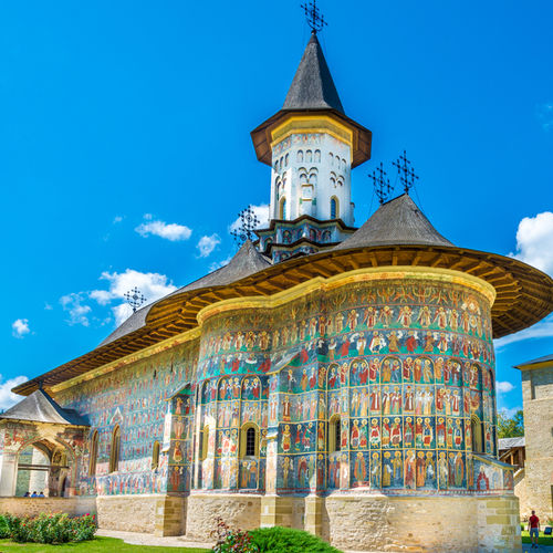 Romania - Moldavi: jaw-dropping 15th Century byzantine Churches.