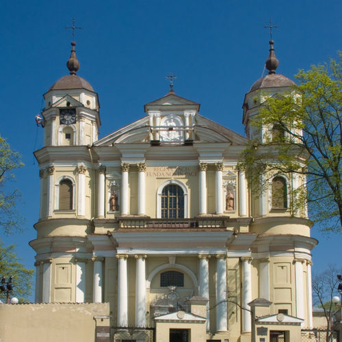 Lithuania - Church of St. Peter and St. Paul: Beautifully and intricately designed