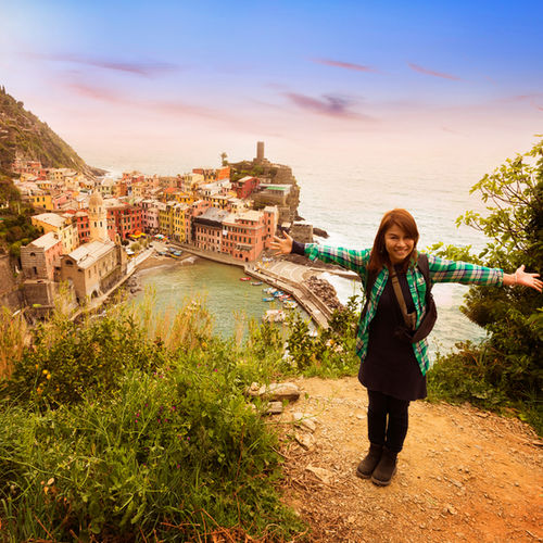 Italy - Hike through the '5 lands' of stunningly beautiful Cinque Terre