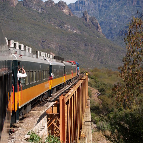 Mexico, Copper canyon, Train