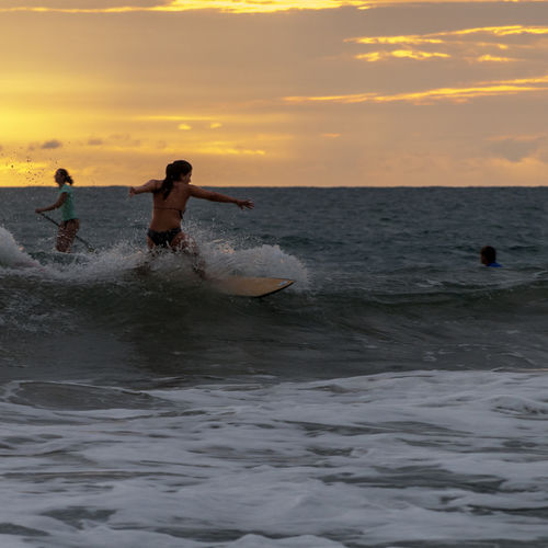 Costa Rica - Pavones: A Surfing Lesson with the Family