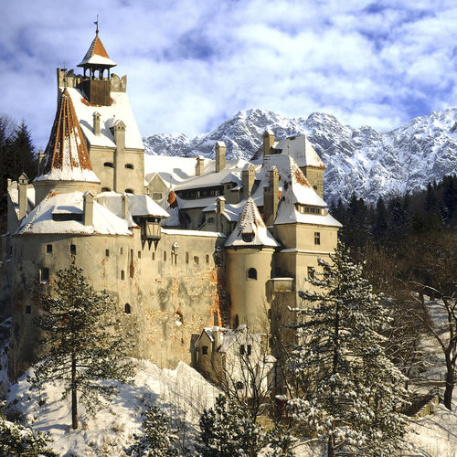 Romania - Dracula's Castle - Need We say more?