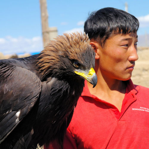 Mongolia - Meet the fierce eagle-hunters of Ulgil, Altai