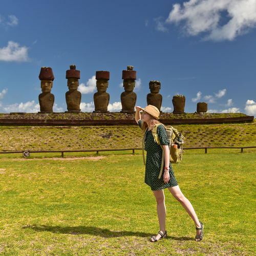Chile - Ponder the mysteries of the Moai on Easter Island with the whole family