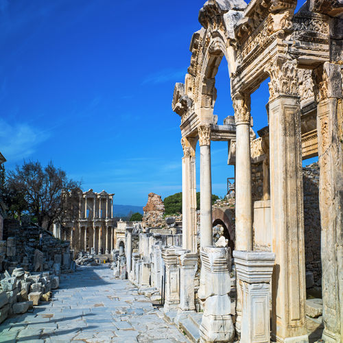Turkey - Ancient Roman History in Etheral Ephesus