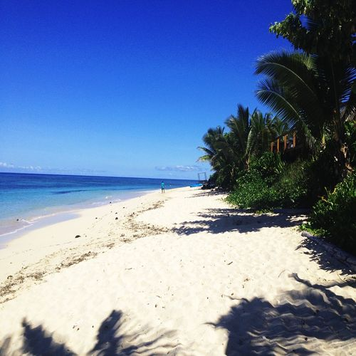 relax on the pristine sands and soak in the warm tropical waters on the beaches of fiji