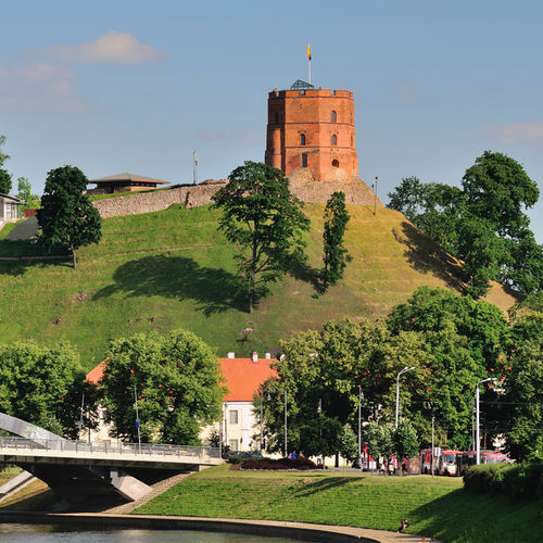 Lithuania - Visit the beautiful Upper Castle in Vilnius