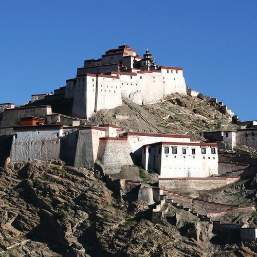 Tibet - Gyantse Dzong - The 14th Century Fort