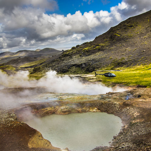 Iceland - Take an exclusive chopper tour of iceland