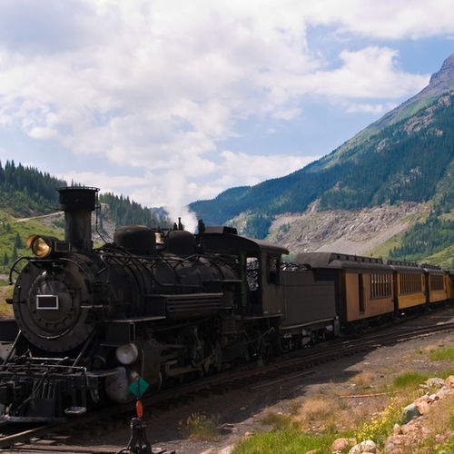Western USA - Ride through the Wild West on a historic narrow gauge train!