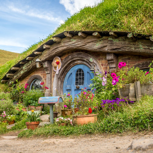 New Zealand - Hobbiton in Hinuera: The Lord of The Rings Experience