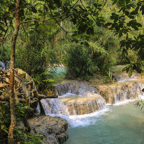 Laos - Kuang Si: Enjoy The Beauty Of Three Tier Falls And Swim In Their Plunge Pools