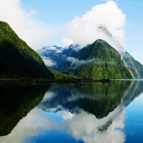New Zealand - Lake Matheson: A Screensaver worthy Landscape