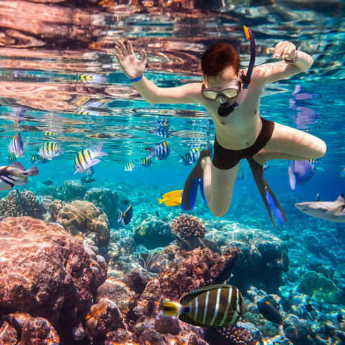 Learn snorkeling in Ifaty