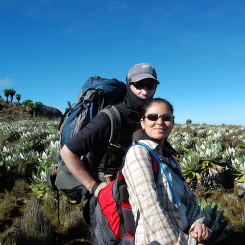 Kenya - Hike or climb Mount Kenya