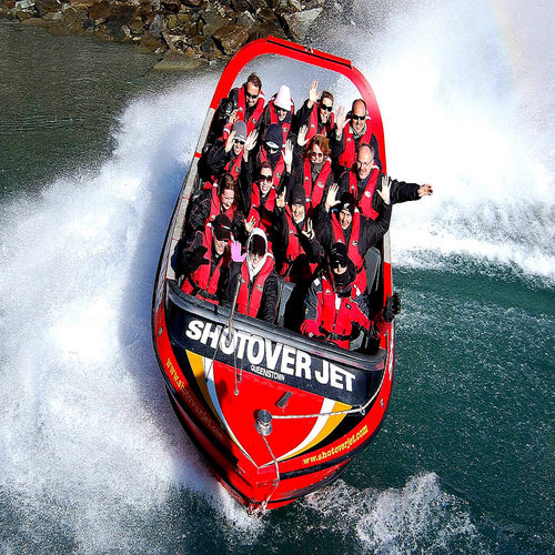 New Zealand - Ride a Jet Boat and Get a Taste of the Wild