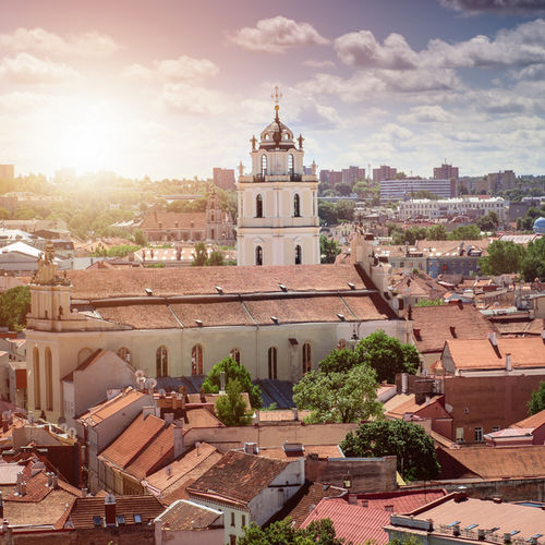 Lithuania - Old Town of Vilnius:Gothic, Renaissance, Baroque and Neoclassical Architecture
