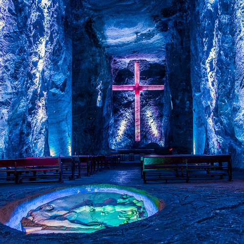 Colombia - Visit The Salt Cathedral of Zipaquira