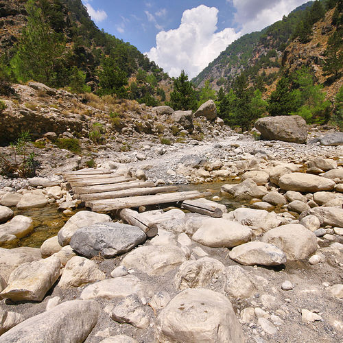 Greece - An expedition through the Ancient forests of Samaria Gorge Canyon