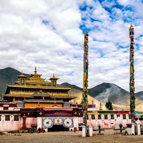 Tibet - Samye Monastery - Birthplace of Tibetan Buddhism
