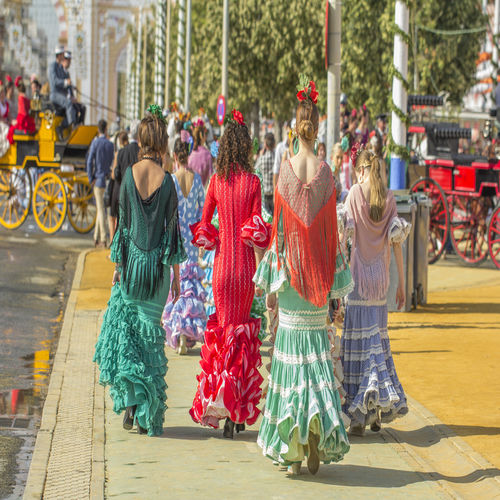 Spain - Experience the wildly colourful Seville Festival