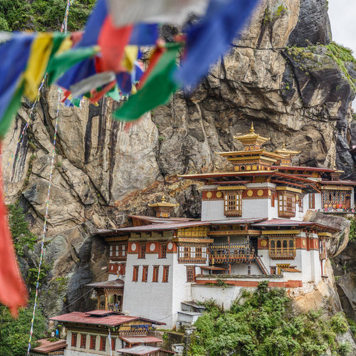 Bhutan - Tigers Nest - The Monastery on a cliff