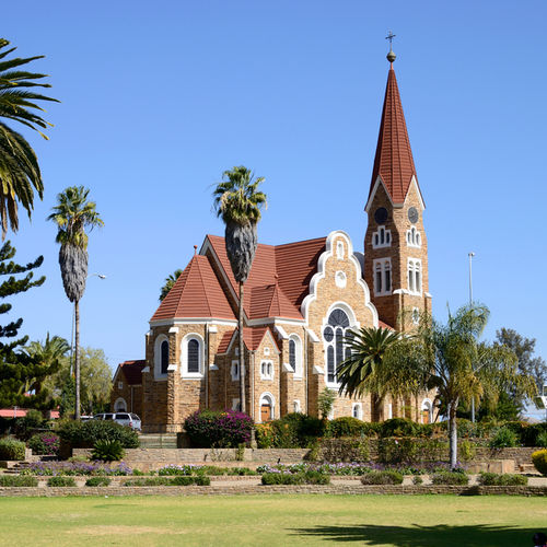 Namibia - Christ Church - a historical landmark