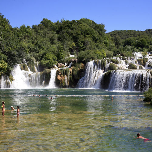 Croatia - Krka national Park: Fun and games in nature