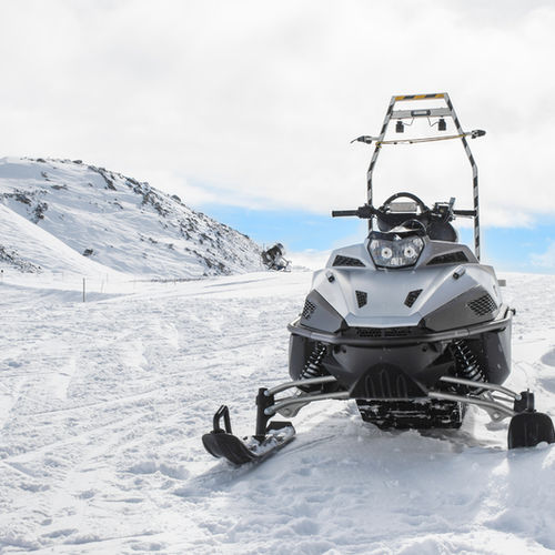 Iceland - Go Snowmobiling on a glacier (yes, even in summer!)