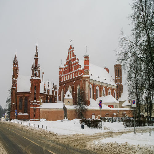 Lithuania - St. Anne's Church: Inricately decorated with brick gothic architecture