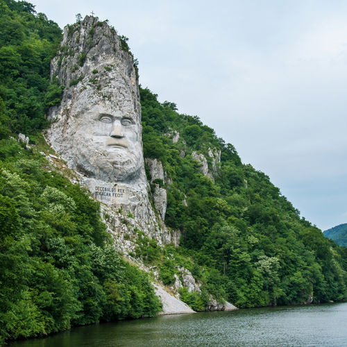 Romania - Visit the Statue of Decebalus - The Last Dacian King