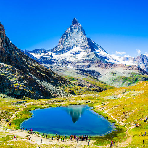 Switzerland, Matterhorn, Alps, Zermatt