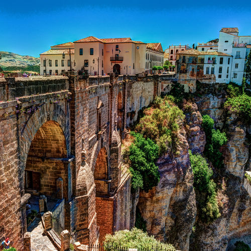 Spain - The Surreal Beauty of Tajo Gorge, Ronda