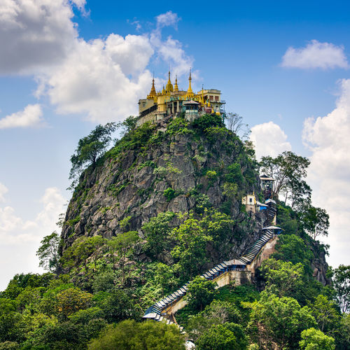 Myanmar - Taung Kalat: Burma's Most Breathtaking Site