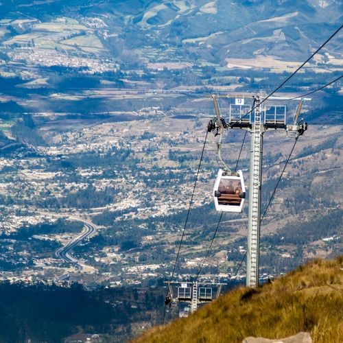 Ecuador - Quito: Enjoy a Modern Gondola Ride in the Teleférico