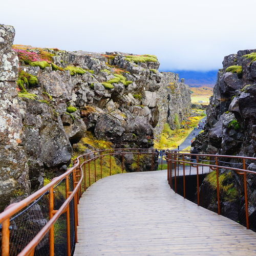 Iceland - Thingvellir National Park: UNESCO Heritage Listed Park
