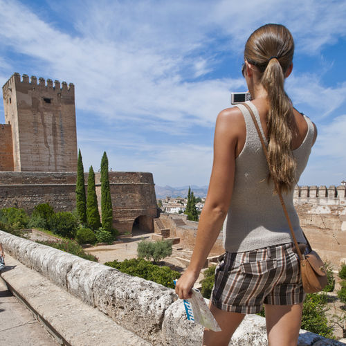 Spain - Visit the gorgeous walled city of Alhambra