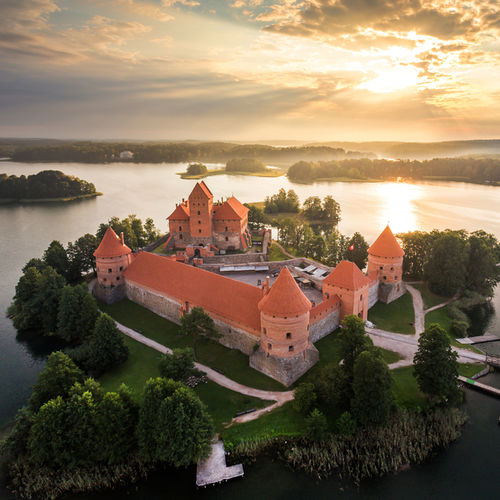 Lithuania - Trakai Island Castle: A beautiful and ancient construction